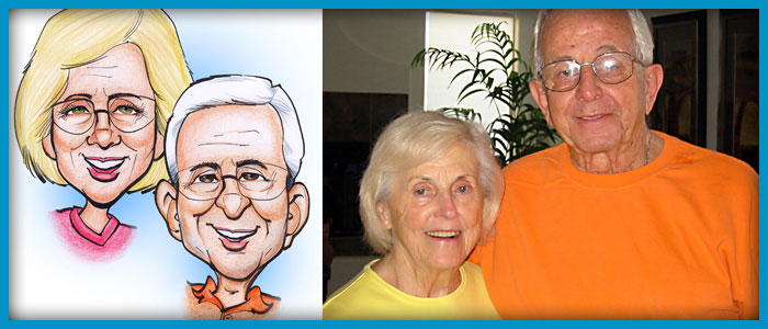 Gift Caricature slide