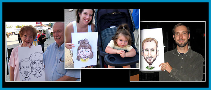 Special event Caricature slide